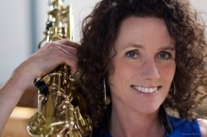Saxofoonles Schagen Jenneke Gerritsen
